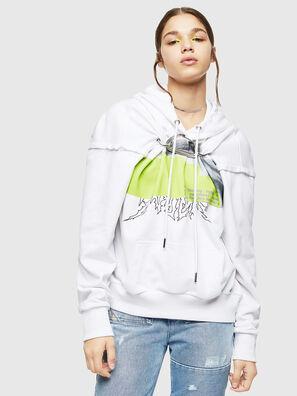 F-ALBYHOOK, Weiß - Sweatshirts