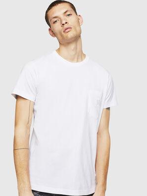 T-DIEGO-POCKET-B1, Weiß - T-Shirts
