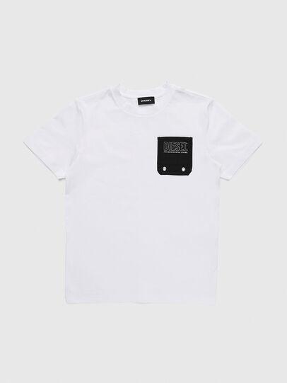 Diesel - TBMOW, Weiß/Schwarz - T-Shirts und Tops - Image 1