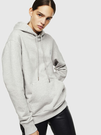 Diesel - S-AFTER, Hellgrau - Sweatshirts - Image 2