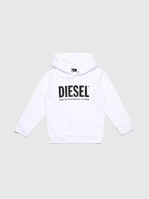 SDIVISION-LOGO OVER, Weiß - Sweatshirts