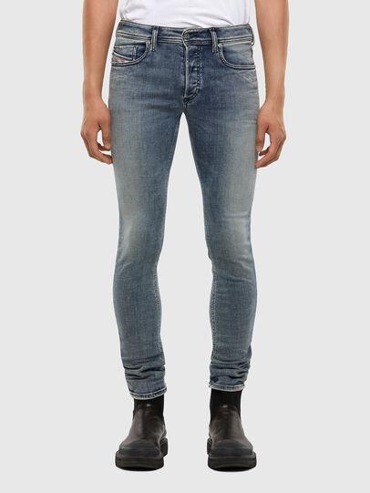 Diesel - Sleenker 009KL, Mittelblau - Jeans - Image 1