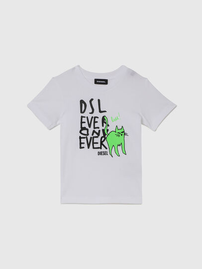 Diesel - TORTUB-R, Weiß - T-Shirts und Tops - Image 1