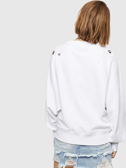 Diesel - F-HENNY-B, Weiß - Sweatshirts - Image 2
