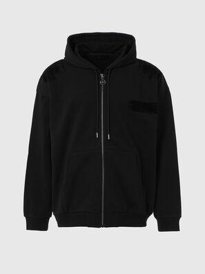 S-HENON-ZIP, Schwarz - Sweatshirts