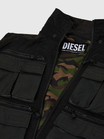Diesel - J-AKKAD, Schwarz - Jacken - Image 7