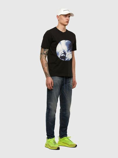 Diesel - D-VIDER JoggJeans® 069NT, Dunkelblau - Jeans - Image 5