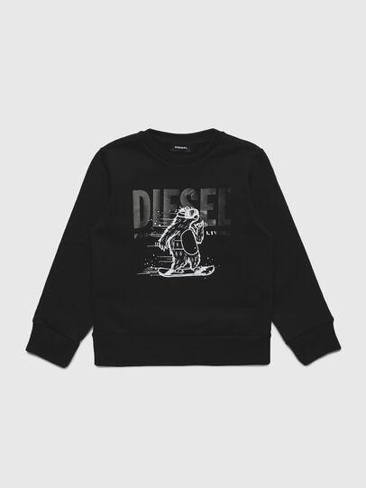 Diesel - SBEAR-TSE, Schwarz - Sweatshirts - Image 1