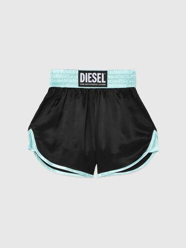 Shorts aus leichtem Twill im Boxer-Style