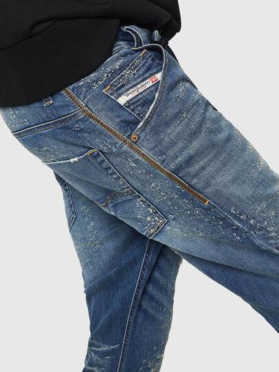 Diesel - Krooley JoggJeans 069HG, Mittelblau - Jeans - Image 4