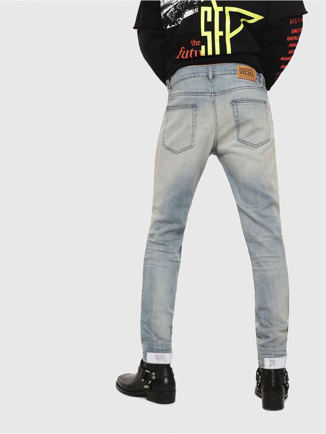 Diesel - D-Strukt 081AP, Hellblau - Jeans - Image 2