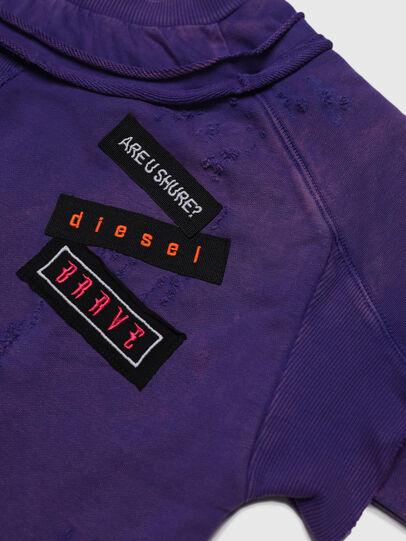 Diesel - STRATY, Violett - Sweatshirts - Image 3
