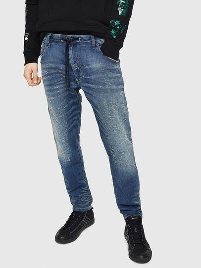 Diesel - Krooley JoggJeans 069HG, Mittelblau - Jeans - Image 1