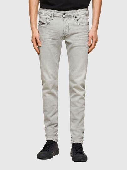 Diesel - Sleenker 009PY, Hellgrau - Jeans - Image 1
