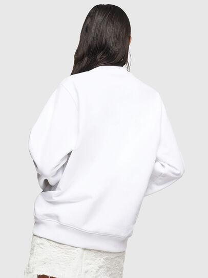 Diesel - F-ANG, Weiß - Sweatshirts - Image 2