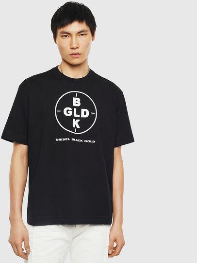 Diesel - TEORIALE-B, Schwarz - T-Shirts - Image 1