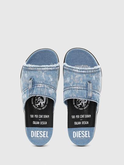 Diesel - SA-GRAND OT, Jeansblau - Pantoletten - Image 4