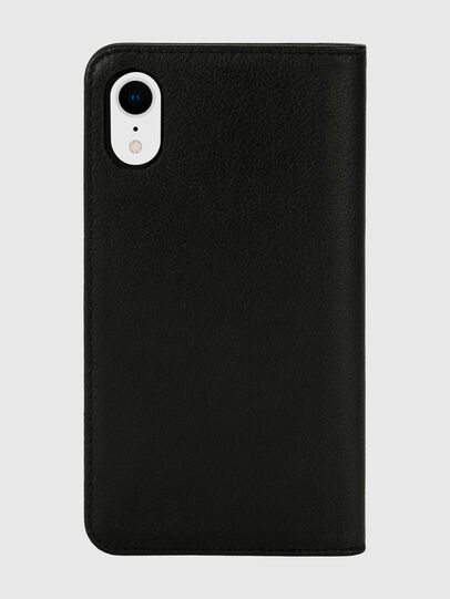 Diesel - DIESEL 2-IN-1 FOLIO CASE FOR IPHONE XR, Schwarz/Weiß - Klappcover - Image 2