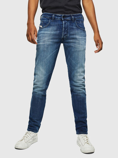 Diesel - D-Bazer 0097Y, Mittelblau - Jeans - Image 1
