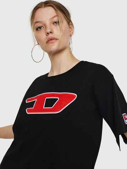 Diesel - T-JACKY-I, Schwarz - T-Shirts - Image 5