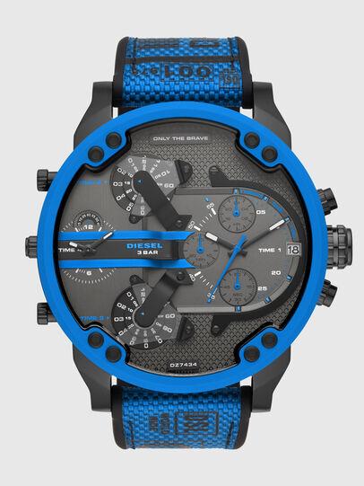 Diesel - DZ7434, Blau/Schwarz - Uhren - Image 1