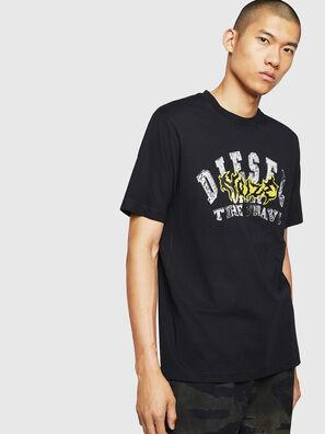 T-JUST-B25, Schwarz - T-Shirts