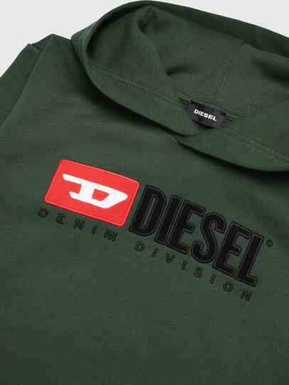 Diesel - SDIVISION OVER, Dunkelgrün - Sweatshirts - Image 3