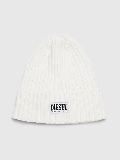 Diesel - K-CODER-E, Weiß - Mützen - Image 1