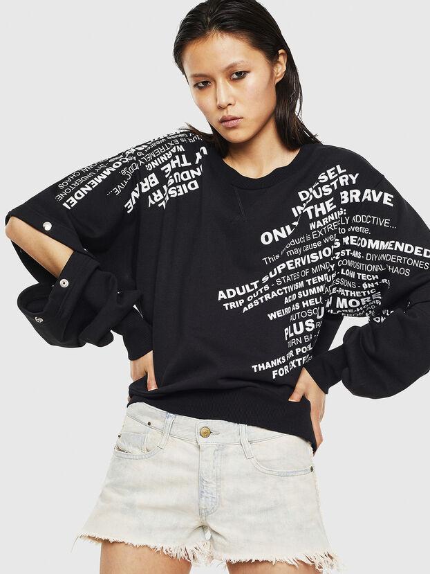 F-AYALA, Schwarz - Sweatshirts