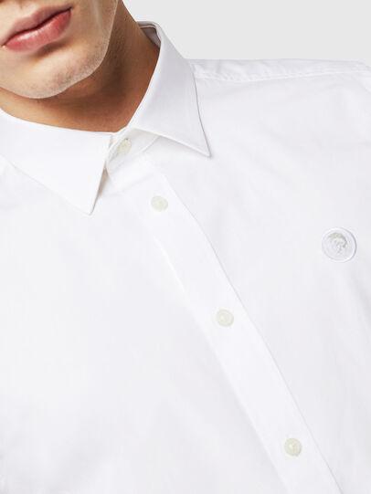 Diesel - S-BILL, Weiß - Hemden - Image 3