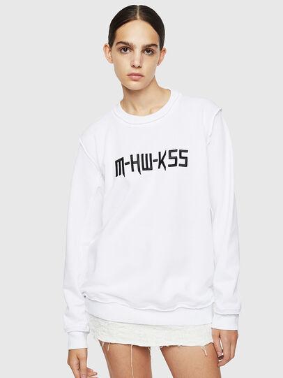 Diesel - F-LYANY-H, Weiß - Sweatshirts - Image 1