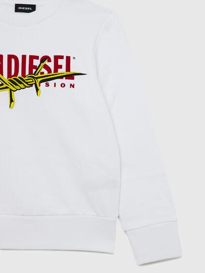 Diesel - SBAYBX5, Weiß - Sweatshirts - Image 4