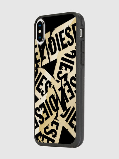 Diesel - MULTI TAPE GOLD/BLACK IPHONE X CASE, Gold - Schutzhüllen - Image 5