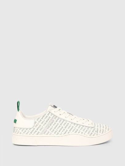 Diesel - S-CLEVER LOW LACE, Weiss/Grün - Sneakers - Image 1
