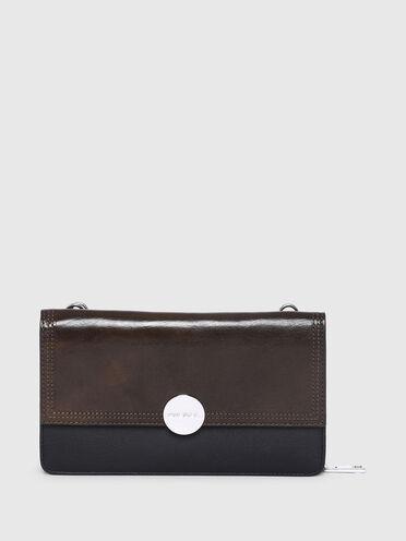 Handtaschen-Portemonnaie mit Diesel-Logo