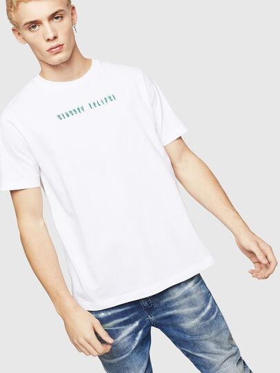 Diesel - T-JUST-A4, Weiß - T-Shirts - Image 1
