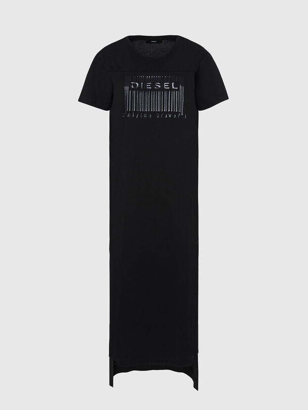 D-FELIX-LONG-E1, Schwarz - Kleider