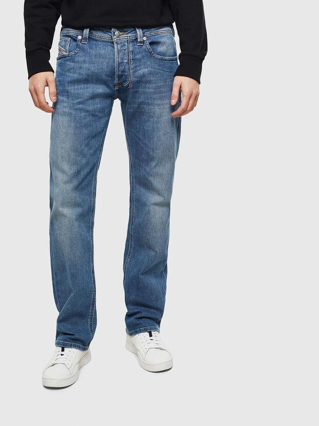 Larkee CN035, Mittelblau - Jeans