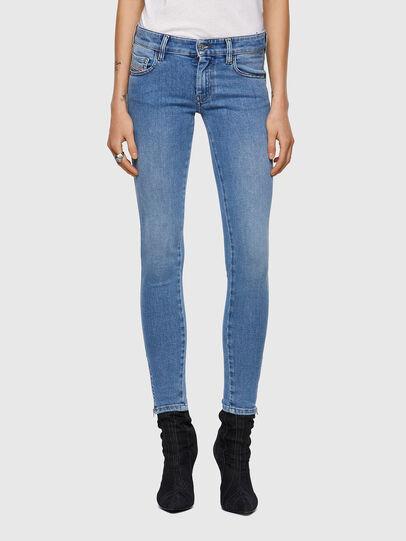 Diesel - Slandy Low 009ZY, Hellblau - Jeans - Image 1