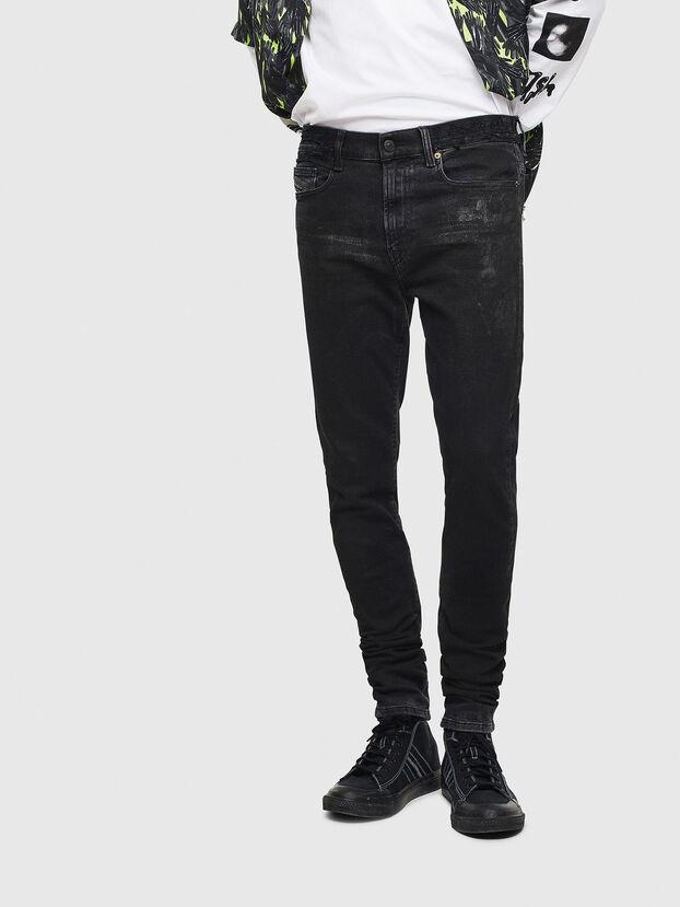 D-Amny 009CE, Schwarz/Dunkelgrau - Jeans