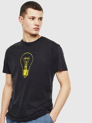 T-DIEGO-S9, Schwarz - T-Shirts