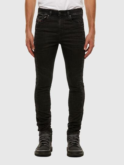 Diesel - D-REEFT JoggJeans® 009FY, Schwarz/Dunkelgrau - Jeans - Image 1