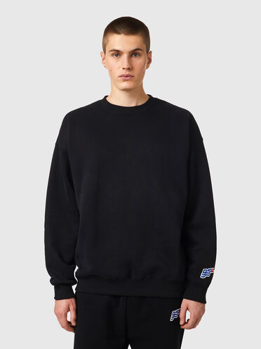 Sweatshirt mit DSL-Wellenpatch