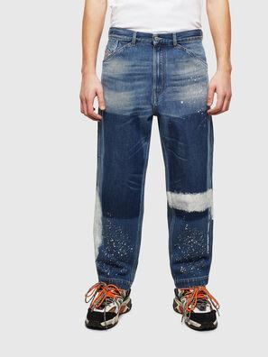D-Franky 009CB, Mittelblau - Jeans
