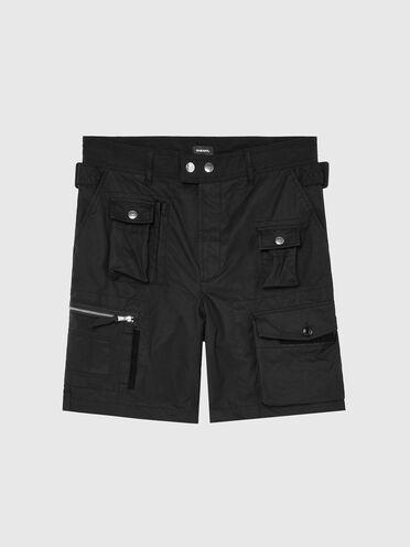 Cargo-Shorts aus verschiedenen Materialien