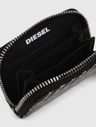 Diesel - JAPAROUND, Schwarz/Weiß - Portemonnaies Zip-Around - Image 3