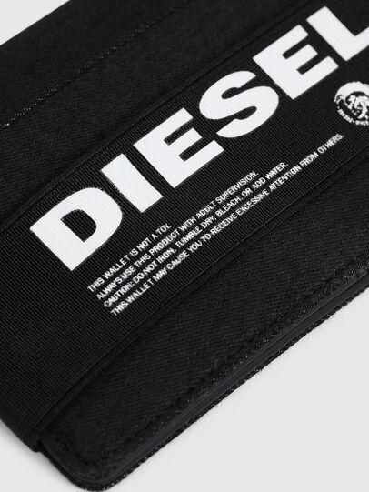 Diesel - ORGANIESEL, Schwarz - Kleine Portemonnaies - Image 4