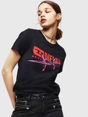 T-SILY-ZC, Schwarz - T-Shirts
