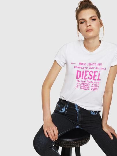 Diesel - T-SILY-ZF, Weiß - T-Shirts - Image 4