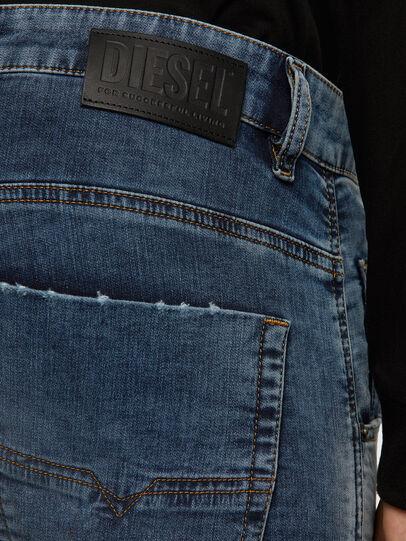 Diesel - Krooley JoggJeans 069NL, Mittelblau - Jeans - Image 4